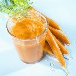 carrot juice - tastes good and is good for your tan.