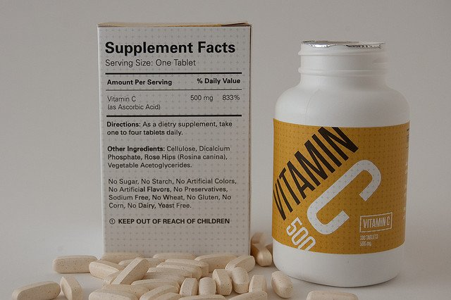 vitamin c packaging dosage